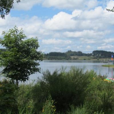 Les Etangs et les Lacs le long du GR7
