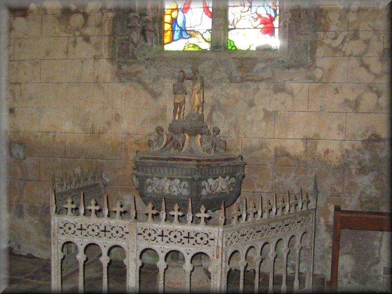 Le Baptistère de l'Eglise de Mont Saint Vincent