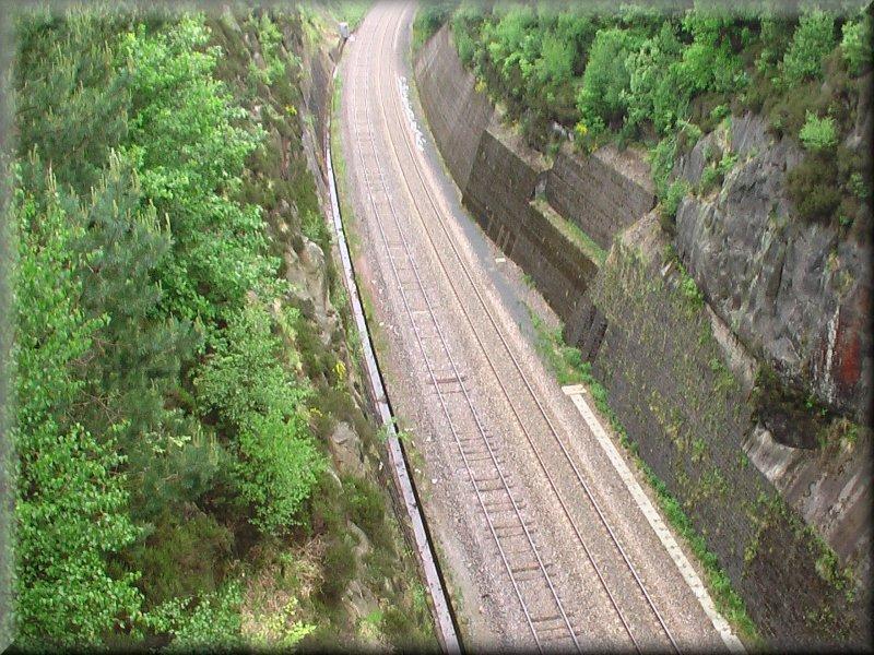 La vue sud du Pont Napoléon