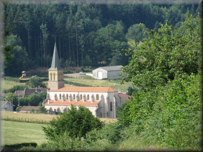 L'Eglise de Saint Bonnet des Bruyères