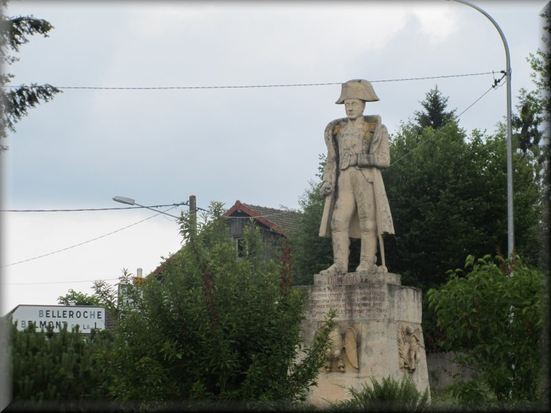 Napoléon 1er au Col des Echarmeaux