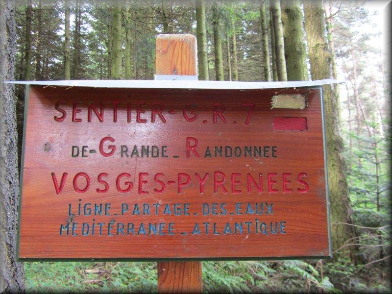 Le GR7 Vosges Pyrénnées