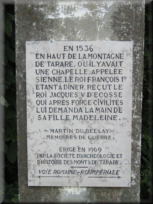 Pied de la Colonne du Col du Pin Bouchain