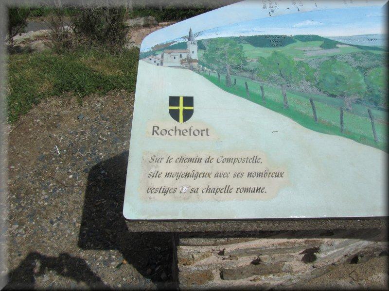La Table d'Orientation de Rochefort