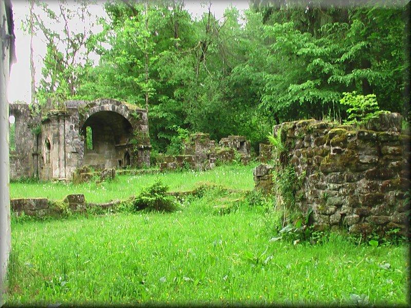 Ruines de l'Ancien Prieuré de Bonneval
