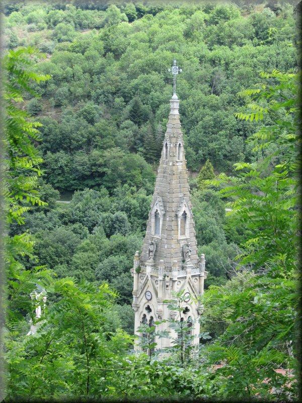 Le Clocher de l'Eglise de Valfleury