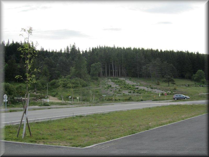 Le Parking du Col de la Croix de Chaubouret