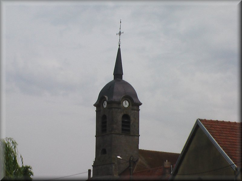 Le Clocher de l'Eglise de Marcilly