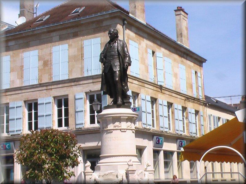 La Statue de Diderot