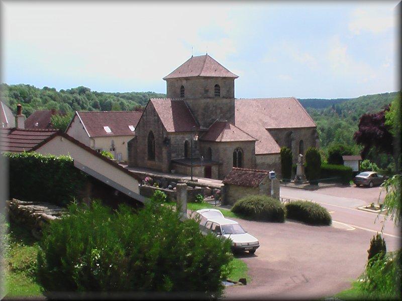 L'Eglise de Perrancey les Vieux Moulins