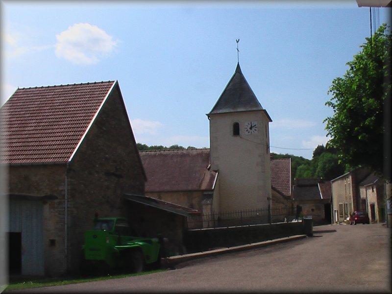 L'Eglise de Vivey
