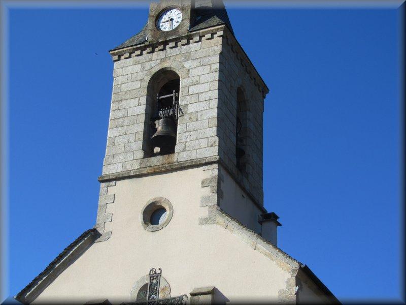 Le Clocher de l'Eglise de La Bastide Puylaurent