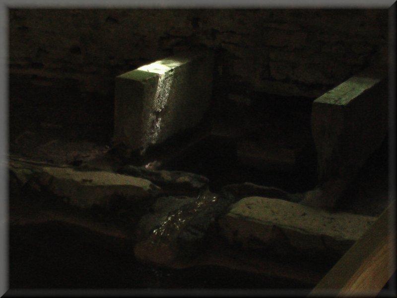 L'Intérieur du Rouissoir de Champagnolles