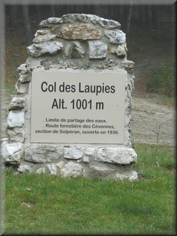 Le Col des Laupies