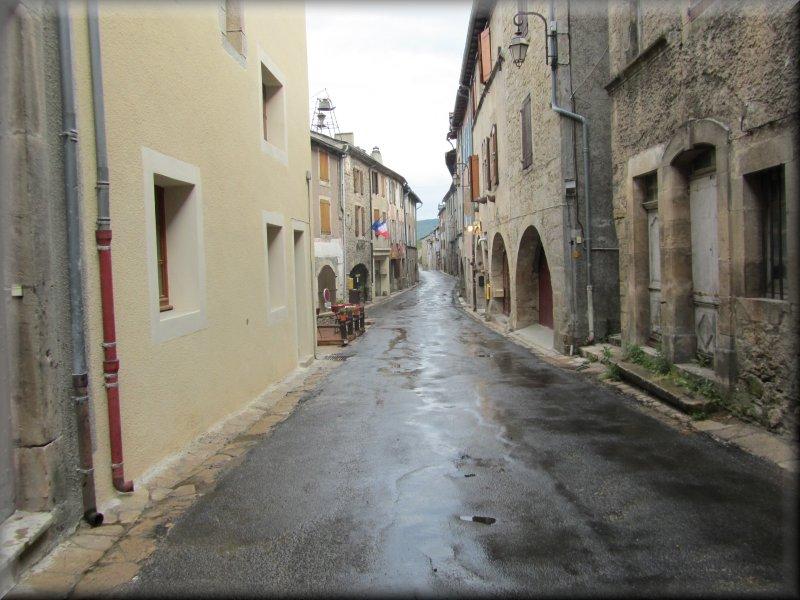 La Rue Principale de Barre des Cévennes