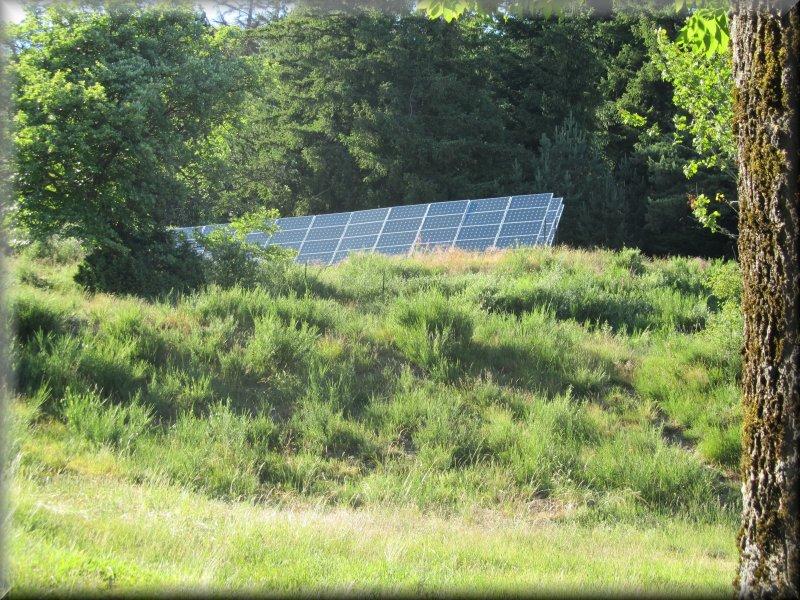 Les Panneaux Solaires du Gîte d'Aire de Côte