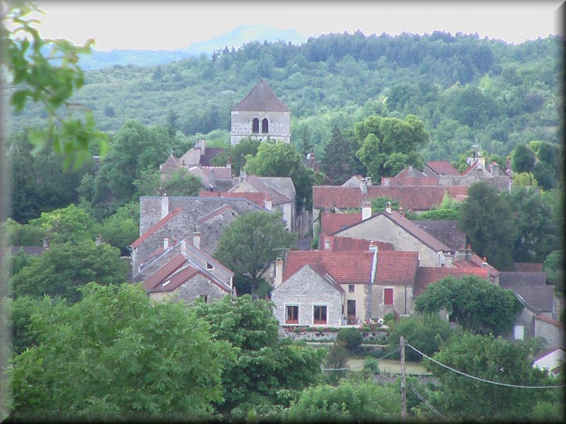 Saint Romain, vue du Nord