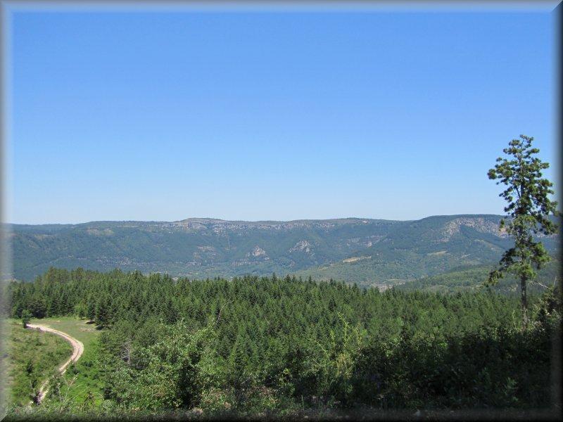 Vue du Col de Mélanque