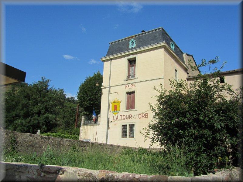 La Mairie de La Tour sur Orb