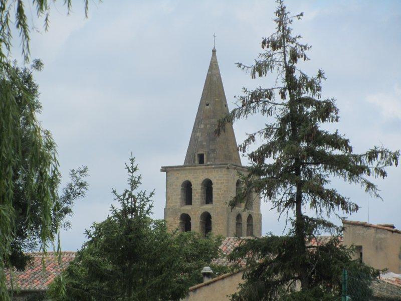 Le Clocher de l'Abbaye de Saint Papoul