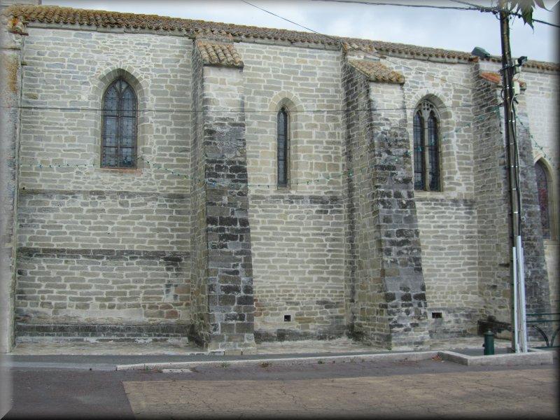 L'Eglise de saint Martin Lalande