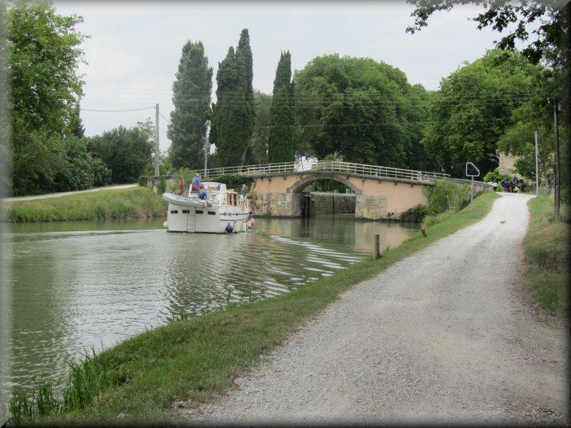 Le Canal du Midi, l'Ecluse de la Peyruque