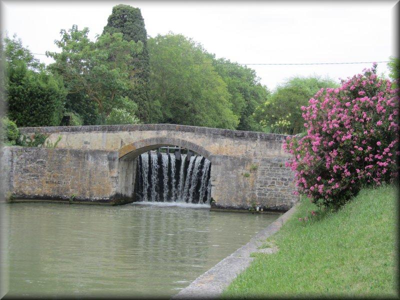 Le Canal du Midi, l'Ecluse de la Criminelle