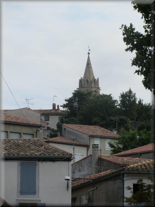 Le Clocher de l'Eglise de Fanjeaux