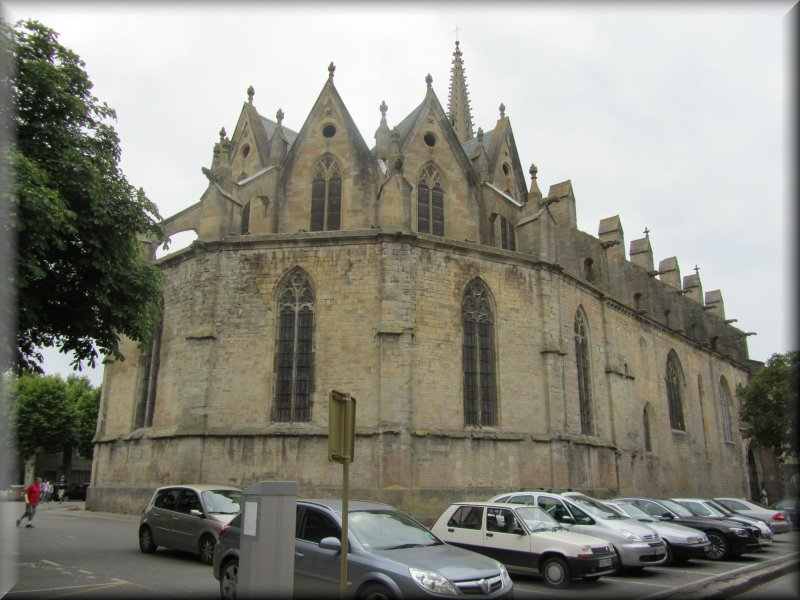 La Cathédrale Saint Maurice à Mirepoix