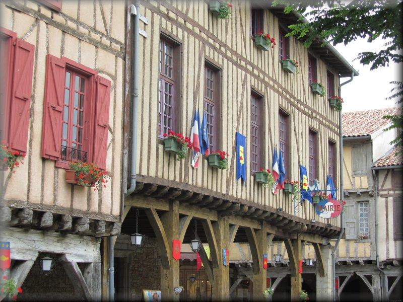 Maisons à Colombages à Mirepoix