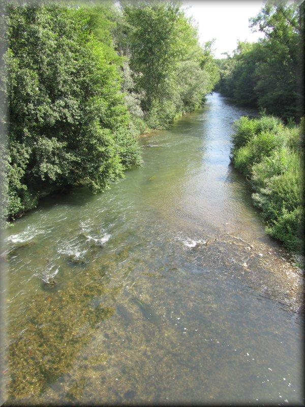 L'Hers, en Aval du Pont