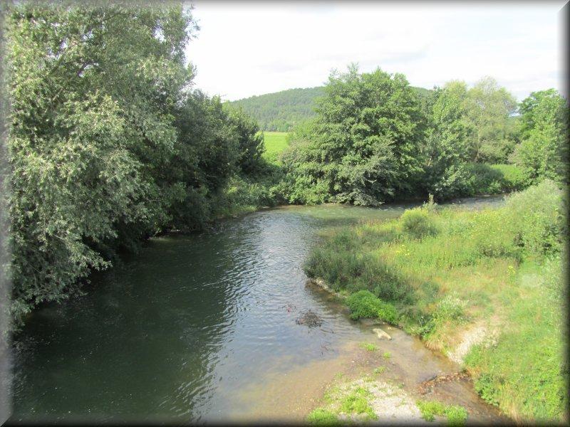 L'Hers, en Amont du Pont