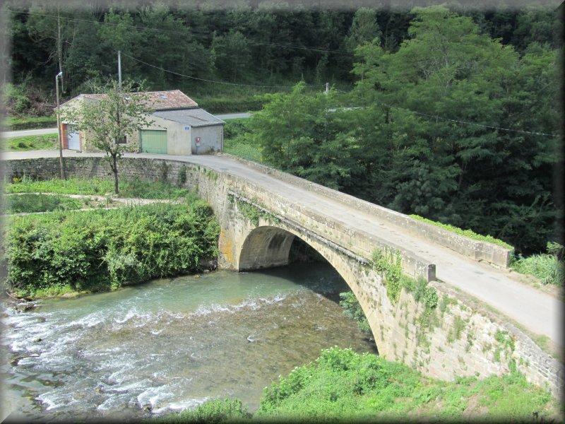 Le Pont sur l'Hers à l'Entrée de Camon