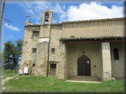 La Chapelle du Calvaire qui domine Chalabre