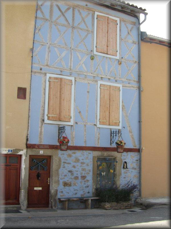 Façade d'une Maison de Chalabre