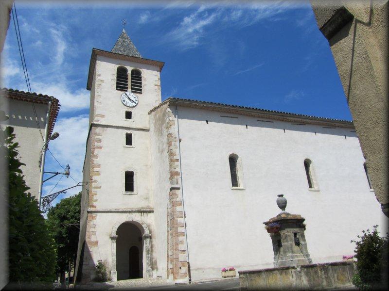 L'Eglise de Nébias