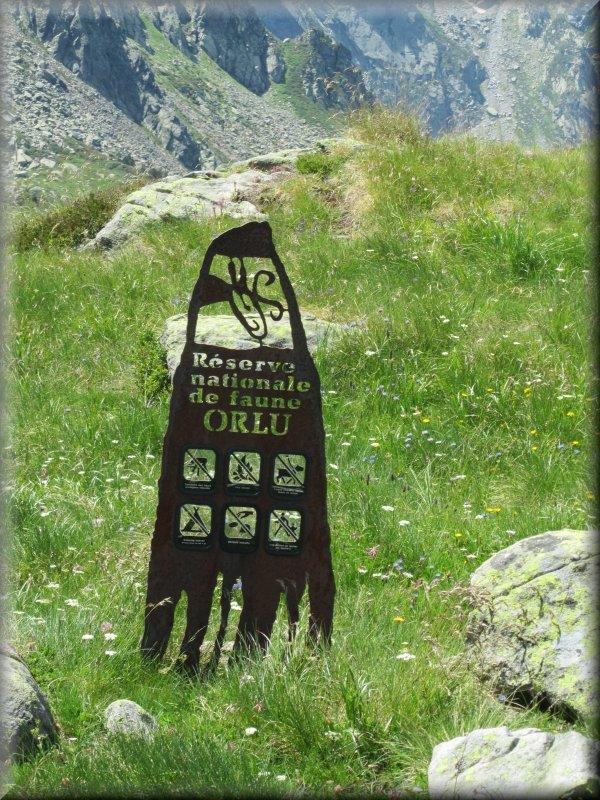 Le Totem de la Réserve Nationale de Faune de l'Orlu