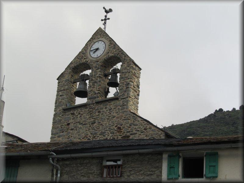 Lle Clocher de l'Eglise de Porté Puymorens