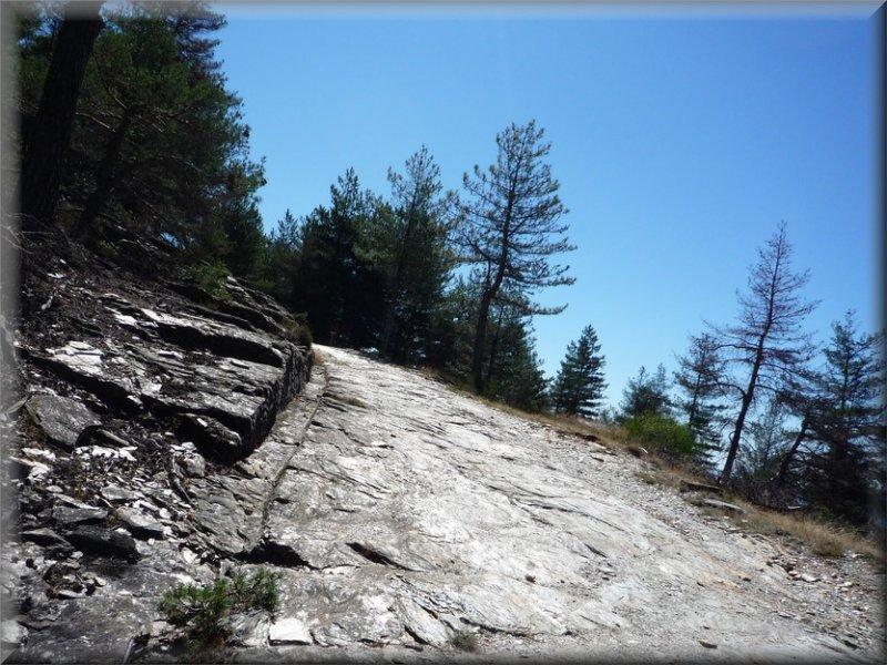 Le Sentier après le Col de Jalcreste