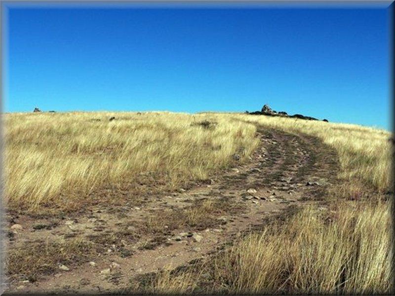 Le Sentier avant le Col de Salidés