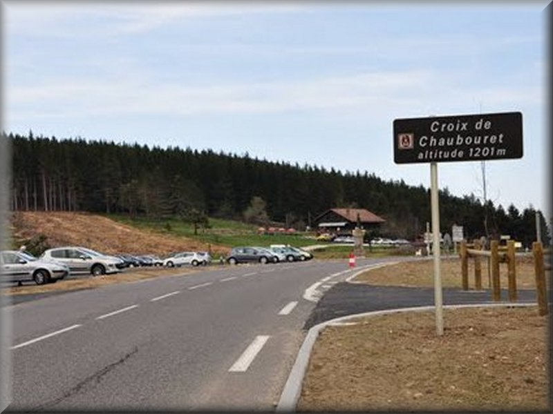 Le Col de la Croix de Chaubouret