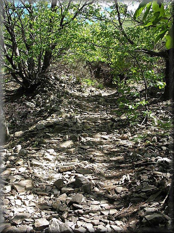 Le Sentier entre Douch et Héric