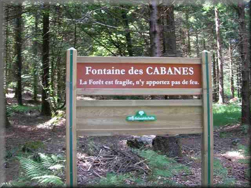 La Fontaine des Cabanes