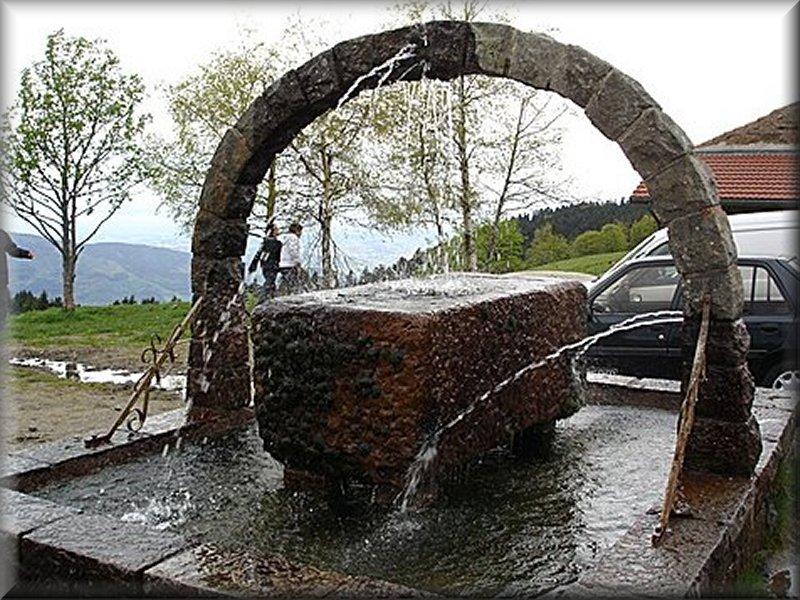 Fontaine à la Jasserie du Pilat