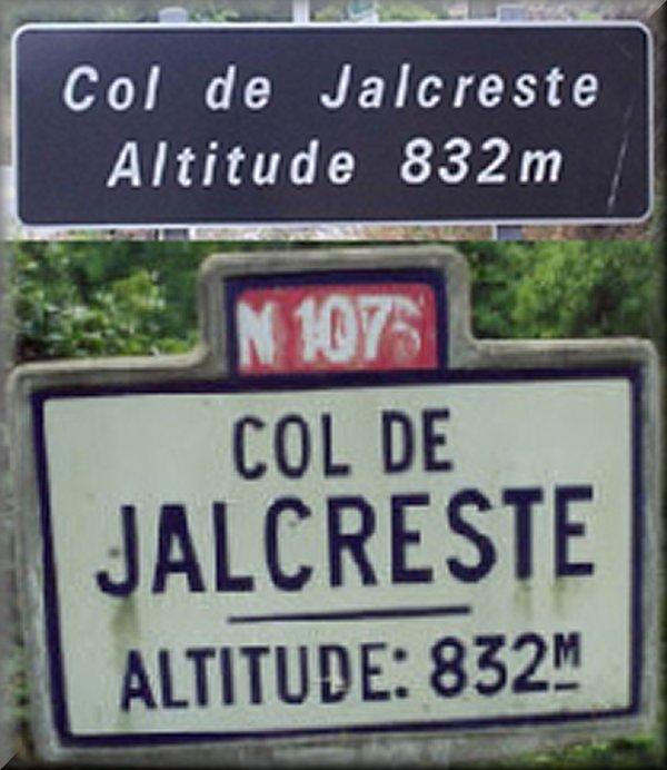 Le Col de Jalcreste
