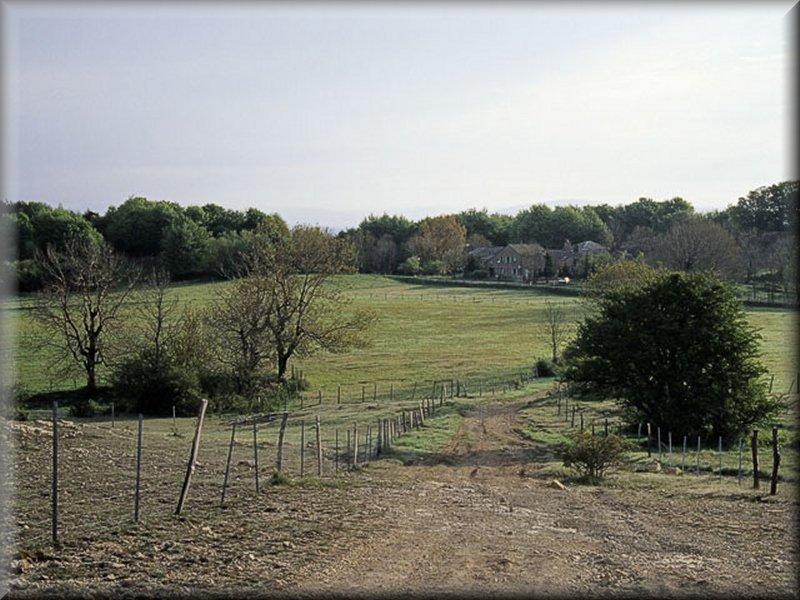 L'Hospitalet vu de la Montée au Can de l'Hospitalet