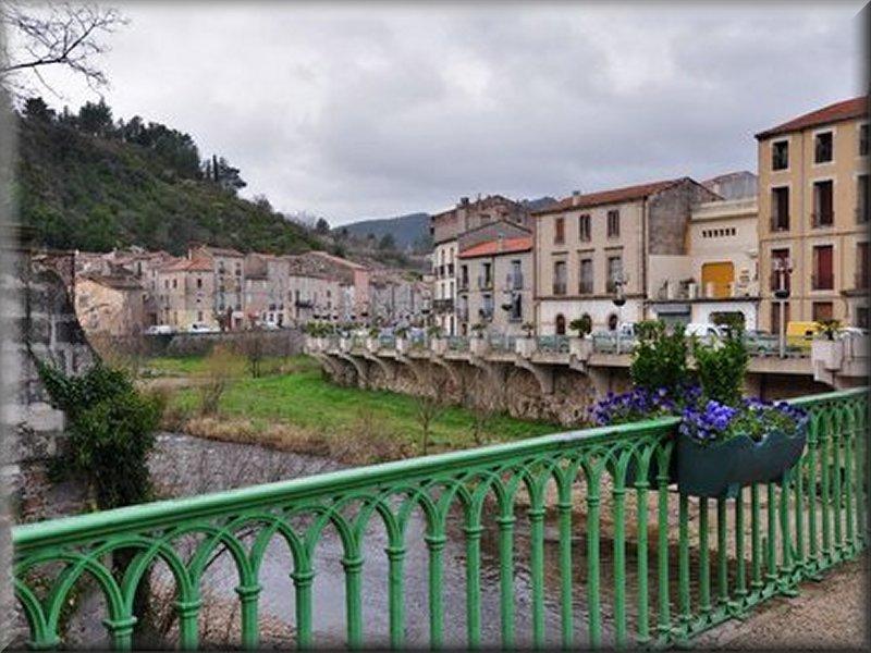 Lodève, du Pont sur la Lergue