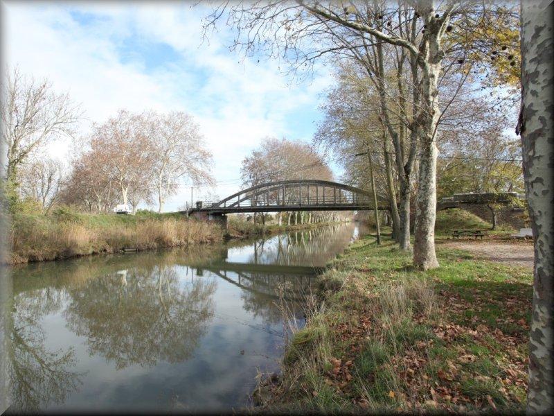 le Pont Saint Jean sur la Canal du Midi