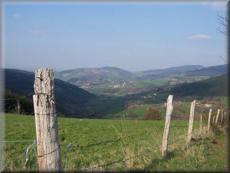La Vallée du Dorlay vue du Col du Planil
